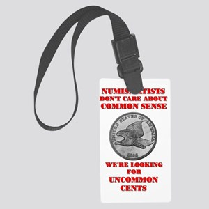 uncommon_cents Large Luggage Tag