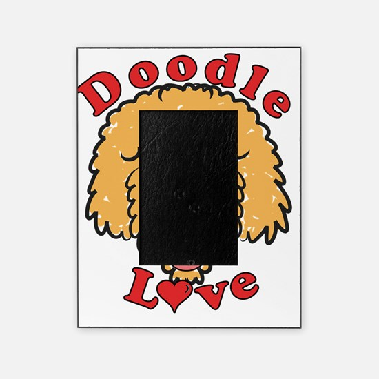 Doodle Love Curly Apricot Picture Frame