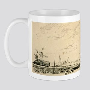 14x6_smallFramedPrint_windmills Mug