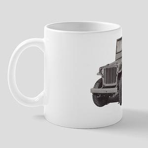 WWII COMMAND RECONNAISSANCE JEEP Mug