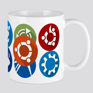 ubuntu distros Mugs