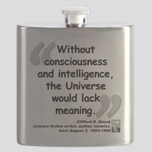 Simak Universe Quote Flask