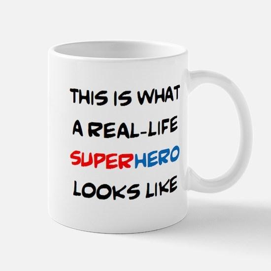 real-life superhero Mug