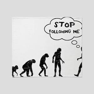 evolution1 Throw Blanket