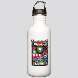 Patching It All Togeth Stainless Water Bottle 1.0L
