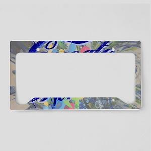 CreateSerenityWithPainting License Plate Holder