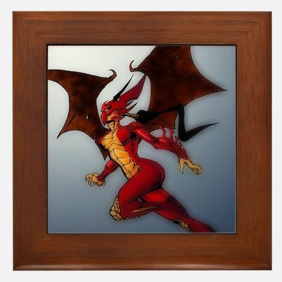 Dragonette-Leng Veng Framed Tile