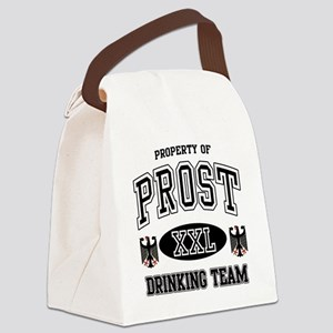 Prost German Drinking Team Canvas Lunch Bag