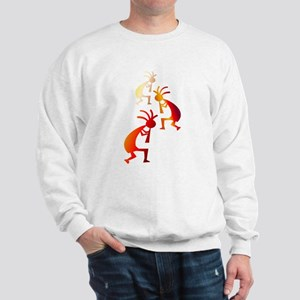 Fire Color Sweatshirt
