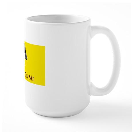 donttreadiPad2TuNe Large Mug