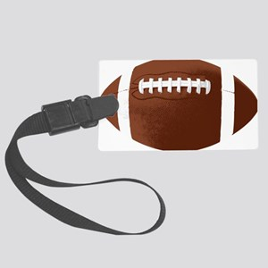 Football Large Luggage Tag