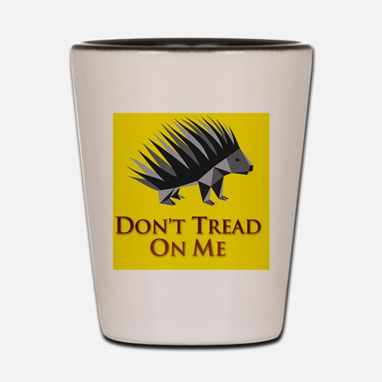 donttreadiTouch4 Shot Glass