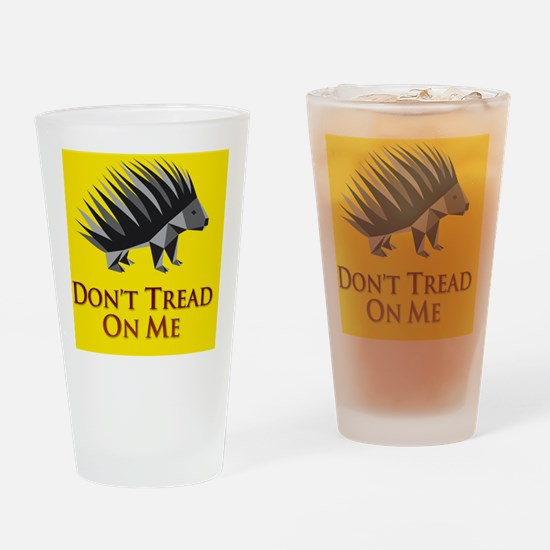 donttreadiTouch2 Drinking Glass