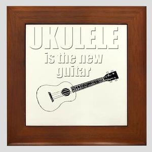 funny hawaii popular ukulele uke Framed Tile