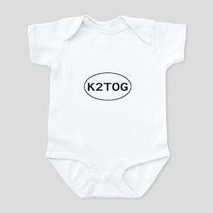 Knitting - K2TOG Infant Bodysuit
