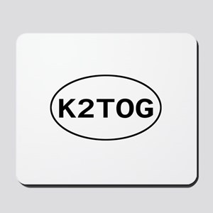 Knitting - K2TOG Mousepad