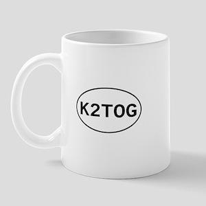 Knitting - K2TOG Mug