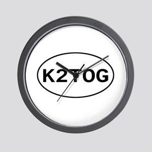 Knitting - K2TOG Wall Clock