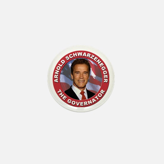 "Arnold ""Govenator"" Schwarzenegger Mini Button"