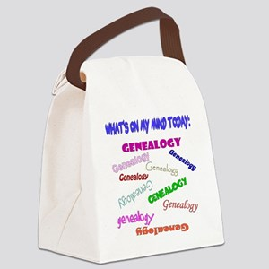 GENEALOGYwhattodotoday5 Canvas Lunch Bag
