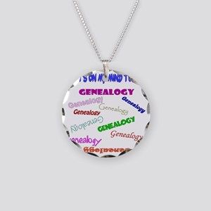 GENEALOGYwhattodotoday5 Necklace Circle Charm