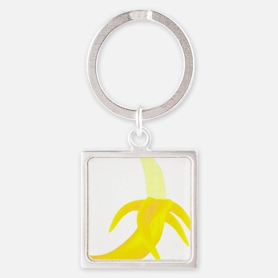Banana Square Keychain