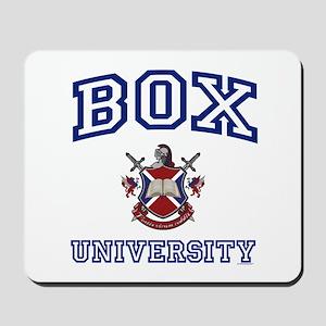 BOX University Mousepad