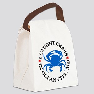 i caught crabs in Ocean City Canvas Lunch Bag