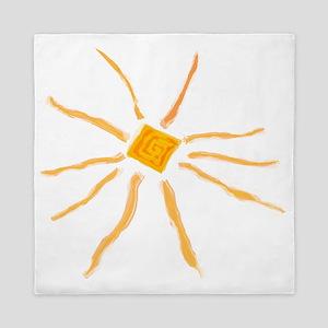 The Sun T-shirts Gifts Queen Duvet