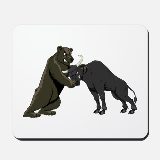 Bull vs. Bear Markets Mousepad