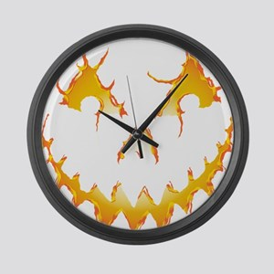 Jack-O-Lantern Large Wall Clock