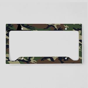 woodland laptop skin License Plate Holder