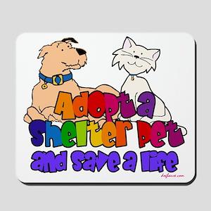 adoptshelterpetsq Mousepad
