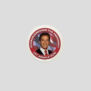 Schwarzenegger for President Mini Button
