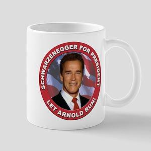 Schwarzenegger for President Mug