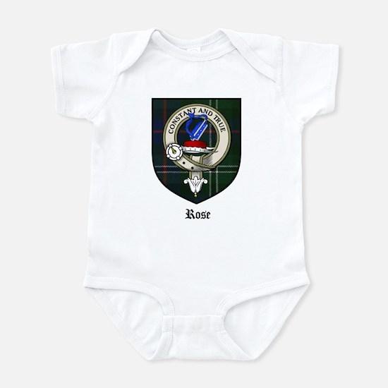 Rose Clan Crest Tartan Infant Bodysuit