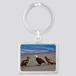 Double Trouble The Stand Off Landscape Keychain