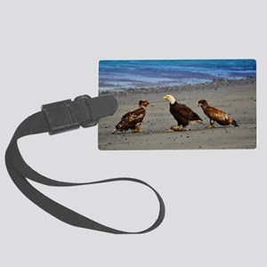 Double Trouble The Stand Off Large Luggage Tag