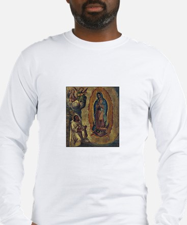 Juan Diego - Guadalupe Long Sleeve T-Shirt