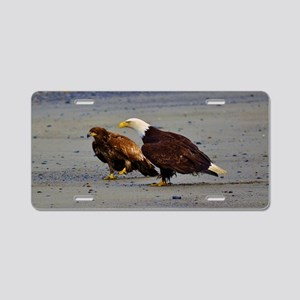 WHAT! Eagle Expressions Aluminum License Plate