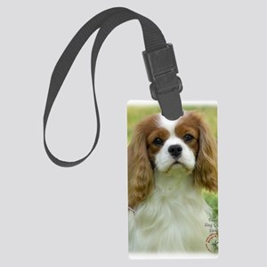 Cavalier King Charles Spaniel 9P Large Luggage Tag
