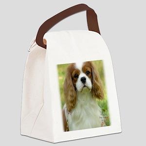 Cavalier King Charles Spaniel 9P0 Canvas Lunch Bag