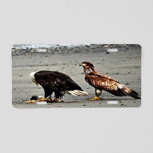 Eagles Dinner Time Aluminum License Plate