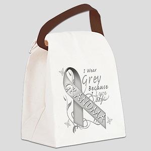 I Wear Grey Because I Love My Gra Canvas Lunch Bag