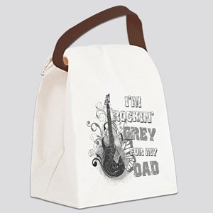Im Rockin Grey for my Dad Canvas Lunch Bag