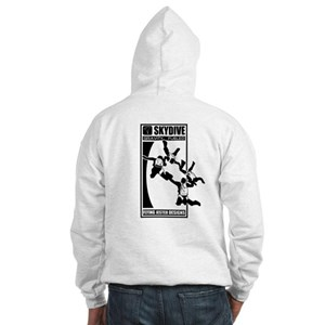 Gravity Fueled 4 Way RW Skydiving Hooded Sweatshir