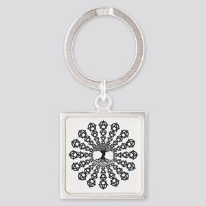 Anarchy tree of life Square Keychain
