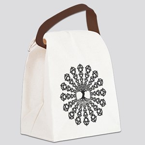 Anarchy tree of life Canvas Lunch Bag