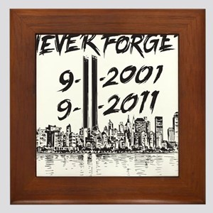 NeverForget Framed Tile