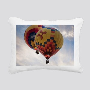 Balloon Poster Rectangular Canvas Pillow